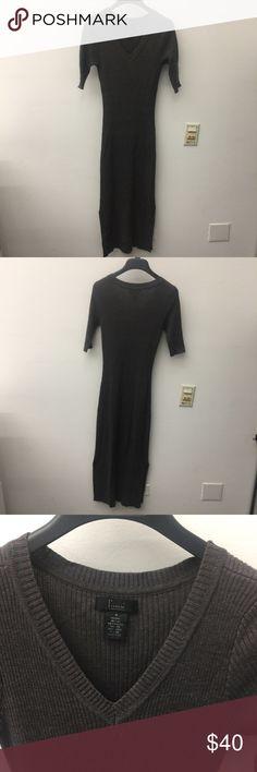 3/4 Sleeve Knit Midi Dress 3/4 Sleeve Knit Midi Dress Dresses Midi