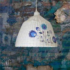 lampa z recyclingu - recycling lamp - artisti.pl
