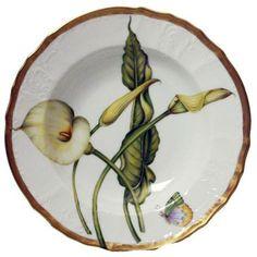 Romantic Pastels Rim Soup Plate | Gracious Style
