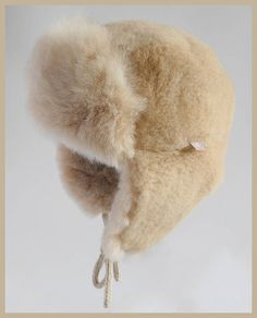 Alpaca Fur Baby/childs Trapper Hat at Samantha Holmes Alpaca Scarf, Always Cold, Baby Layette, Trapper Hats, Fancy Hats, Baby Alpaca, Hat Making, New Baby Gifts, Kind Mode
