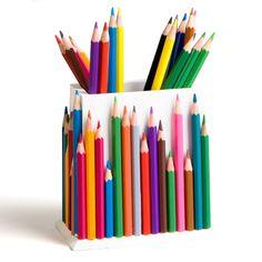 Pot à crayons récup. Base pot crayon artemio ref. VICR dispo sur www.toutacreer.fr/objets-a-decorer/869-pot-a-crayons-en-bois.html