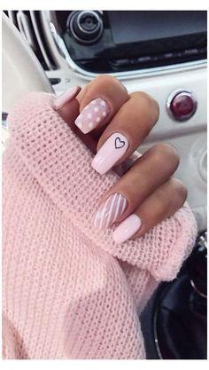 Best Nail Art Designs, Simple Nail Designs, Acrylic Nail Designs, Nail Designs For Summer, Cute Toenail Designs, Winter Nails, Spring Nails, Winter Nail Colors, Cute Nails