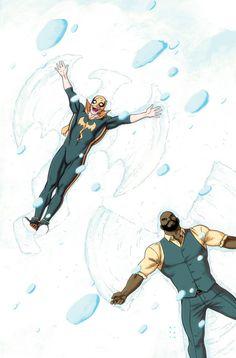 Power Man and Iron Fist Snow Angels - Kristafer Anka