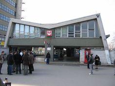 Örs Vezér téri metró, fogadóépület - 1970-2007 Old Photos, Vintage Photos, Anno Domini, Metroid, Budapest Hungary, Retro Vintage, Landscapes, Street View, History