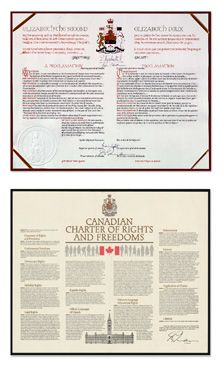 Canada's Constitution Constitution Of Canada, Freedom, Liberty, Political Freedom