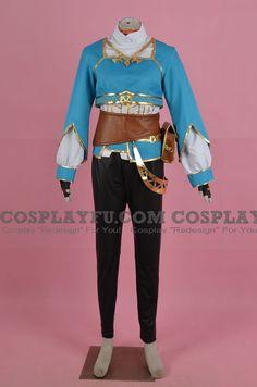 Custom Princess Zelda Cosplay Costume (Breath of the Wild, 2nd) from The Legend of Zelda - CosplayFU.com