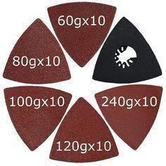 Makita Multi Tool Compatible Triangular Oscillating Tool Sanding Pad