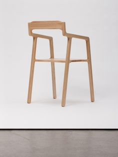 Frame Chair is a minimalist design created by Germany-based designer Hayo Gebauer. The Frame Chair appears to be a fragile chair, but featur...