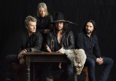 WILD HEARTED SONS: The Cult, from left, guitarist Billy Duffy, bassist Chris Wyse, singer Ian Astbury and drummer John Tempesta