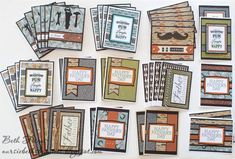 Beth's Beauties: Masculine Birthday Cards