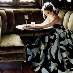 She sat in the corner wearing a dress that my sister obviously had designed. She saw me then immediately looked down bashfully. Timeless Fashion, High Fashion, Camila Belle, Most Beautiful Hollywood Actress, Ripped Girls, Lady And Gentlemen, Camilla, Celebrities, Celebs
