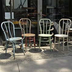 French Café Chairs | cityFoundry