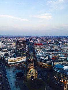 Großartig Aussicht von der Präsidentensuite des Waldorf Astoria über Berlin
