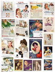 tons of vintage printables