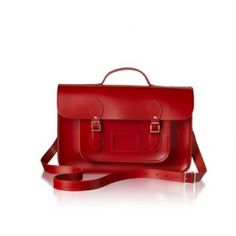 Ever since I saw the Google advert featuring the Cambridge Satchel Company, I wanted one! So many colours with lots of different styles...I think I'd need more than one