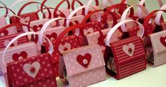 I made a bunch of these little Valentine purses last weekend.  I passed them out to all the ladies at my sister-in-law's superbowl party, an...