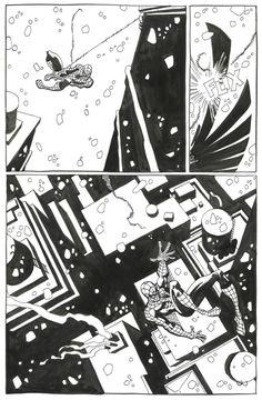Spiderman Blue . by Tim Sale - Comic Strip