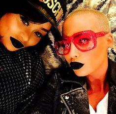 Blac Chyna & Amber Rose. Entertainment Music News @ www.entertainmentmusicnews.com