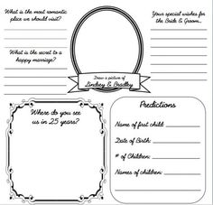 Diy Wedding Guestbook Templates    My Own Diy Guest Book For