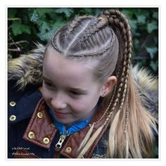 Hairstyle for little kids