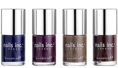 Nails Inc Autumn Winter 2013 Collection