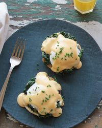 Eggs Florentine with Smoky Mornay Sauce