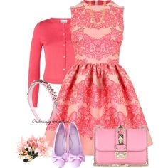 Red Valentino by oribeauty-cosmeticos on Polyvore featuring beleza, RED Valentino, R.J. Graziano and Valentino