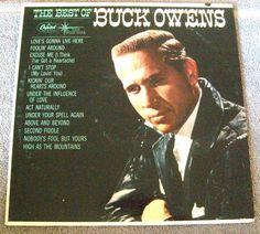 The Best of Buck Owens LP Album (Vinyl, Capitol.Records) T 2105  #BakersfieldSound