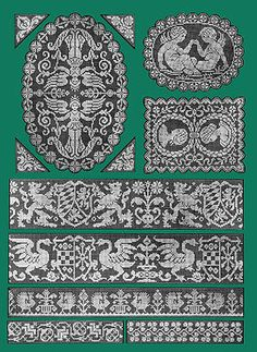 Filet Ancien #4 c.1917 French Lace Design Pattern Book STANDARD SIZE 8.5x11