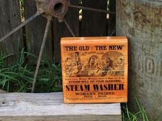 Steam Washer  Vintage Style Wooden Wall Sign by MegAndMosClubhouse #tnteam, #etsy, #MegAndMosClubhouse