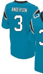 """$78.00--D.J. Campbell Blue Elite Jersey - Nike Stitched Carolina Panthers #26 Jersey,Free Shipping! Buy it now:click on the picture, than click on """"visit aliexpress.com"""" In the new page."""