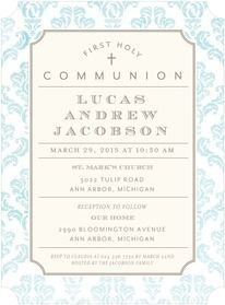 First Communion Invitations and Holy Communion Announcements by Tiny Prints