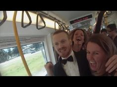Man Starts Amazing Train Dance Party With Wit And Charm - Digg