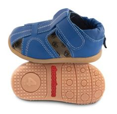 ace2c195fd6417 These leather baby shoes in peanut butter brown are durable and fun. Only  the softest