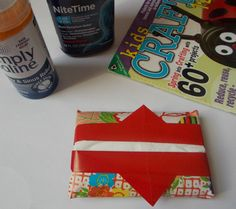 How to Fold an Origami Tissue Case: Complete Your Origami Tissue Case Origami Box, Origami Easy, Origami Decoration, Origami For Beginners, Origami Tutorial, Spring Crafts, Envelope, Recycling, Crafty