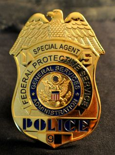 US Police Badges Sale | ... -FEDERAL-PROTECTIVE-SERVICES-US-POLICE-BADGE-SEE-STORE-FOR-BADGES