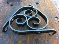 Hand Forged. Apprentice Trivet. WWW.CJFORGE.NET