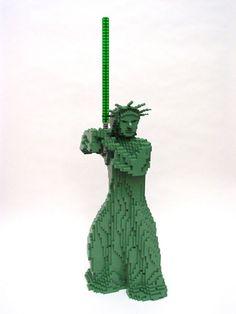 nathan sawaya - lego art