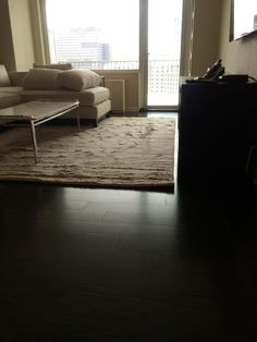 Central Mass Hardwood had the pleasure of installing prefinished dark stained hardwood floors in a beautiful apartment in the South End of Boston, MA.