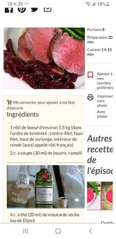Filets, 20 Min, Steak, Beef, Food, Favorite Recipes, Meat, Essen, Steaks
