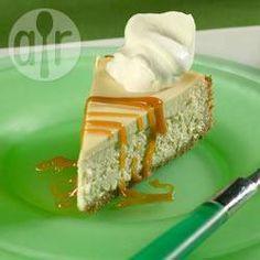 Rezeptbild: Kaffee-Karamell-Cheesecake