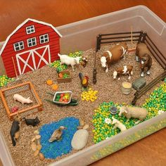 Farm Activities, Toddler Learning Activities, Kindergarten Activities, Animal Activities, Kids Crafts, Preschool Crafts, Diy And Crafts, Farm Projects, School Projects