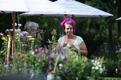 garden course, with Camilla Plumherbs and edible flowers Fuglebjerggaard