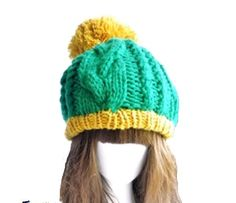 New fashion winter knit ski cap toque hat for women beanie mxm21