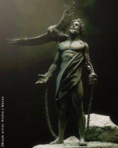 Ancient Greek Sculpture, Greek Statues, Ancient Art, Greek Mythology Tattoos, Greek Mythology Art, Statue Tattoo, Tattoo Arm Mann, Greek Monsters, Rennaissance Art