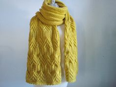 Knitting Extra long Shawl and scarf by Namaoy on Etsy, $72.00