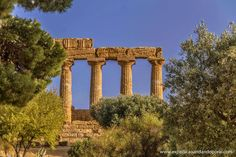 EXPEDIÇÃO ANDANDO POR AÍ...: Vale dos Templos - Agrigento, Sicília, Itália