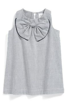 egg by susan lazar Seersucker Sleeveless Dress (Baby Girls) available at #Nordstrom