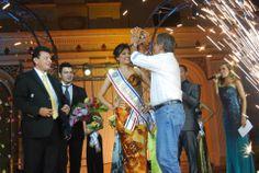 Norman Quijano futuro Presidente de El salvador fue invitado especial a la coronación de la Reina de Chalatenango.