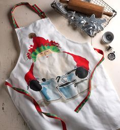 Old St. Nick artisan Alessandro Taddei handpainted the designs that are custom-printed on each Italian-made 100% cotton piece. They are machine washable and ...